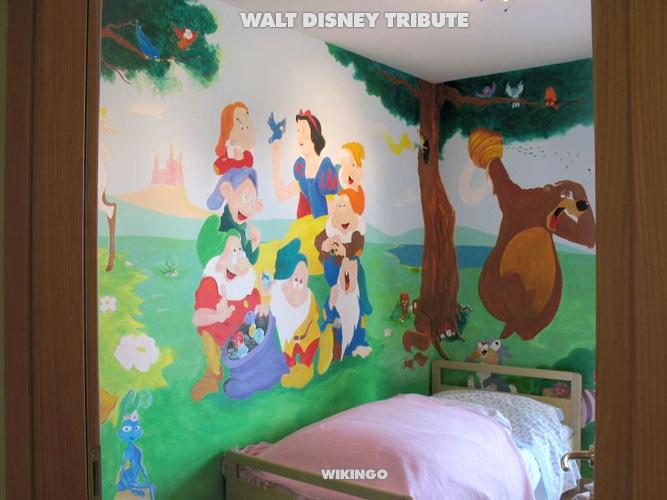 Decorazione Pareti Interni - decora e disegna su parete